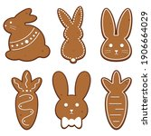 A Set Of 6 Different Easter...