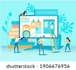 modern electronic internet...   Shutterstock .eps vector #1906676956