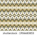 ethnic ikat chevron pattern...   Shutterstock . vector #1906683853