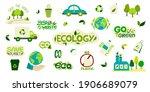 big collection of environmental ... | Shutterstock .eps vector #1906689079