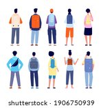 backpackers characters.... | Shutterstock .eps vector #1906750939