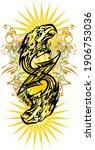 double eagle head symbol... | Shutterstock .eps vector #1906753036