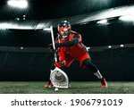 Lacrosse Player  Athlete...
