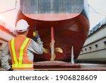 Shipyard Stern Ship Propeller ...