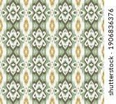 ethnic ikat vector chevron...   Shutterstock .eps vector #1906836376