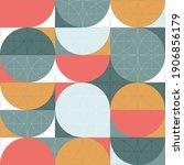 geometry minimalistic artwork... | Shutterstock .eps vector #1906856179