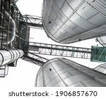 Metal Silo For Grain Storage On ...