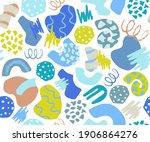 abstract creative modern... | Shutterstock .eps vector #1906864276