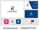 modern letter r technology logo ...   Shutterstock .eps vector #1906927570