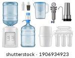water filter realistic vector... | Shutterstock .eps vector #1906934923