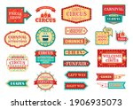 circus pointer  carnival or... | Shutterstock .eps vector #1906935073