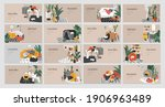 landing page template for...   Shutterstock .eps vector #1906963489