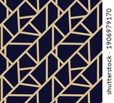 vintage geometric seamless... | Shutterstock .eps vector #1906979170
