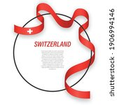 waving ribbon flag of... | Shutterstock .eps vector #1906994146