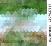 Seamless Hexagon Geo Grid...