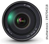 camera photo lens  vector...   Shutterstock .eps vector #190704218
