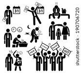 worker employee income salary... | Shutterstock .eps vector #190706720