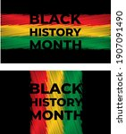 african american history or...   Shutterstock .eps vector #1907091490