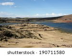 panoramic view on the ruins of... | Shutterstock . vector #190711580