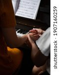 Teacher Of Music Is Teaching...