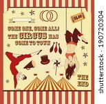 acrobatics,acts,bicycles,bullhorn,card,carnival,circus,clown,come,costume,curtain,dance,death,defying,end