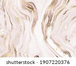 agate mineral abstract painting ... | Shutterstock .eps vector #1907220376