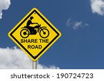 Share The Road Warning Sign  An ...