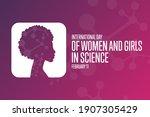 international day of women and... | Shutterstock .eps vector #1907305429