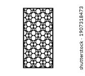 laser and cnc cutting pattern... | Shutterstock .eps vector #1907318473