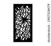 laser and cnc cutting pattern... | Shutterstock .eps vector #1907318479