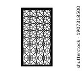 laser and cnc cutting pattern... | Shutterstock .eps vector #1907318500