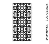 laser and cnc cutting pattern... | Shutterstock .eps vector #1907318536