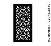 laser and cnc cutting pattern... | Shutterstock .eps vector #1907318560