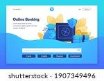 online banking landing page....