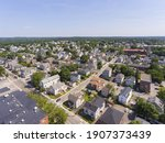 Waltham Moody Street Aerial...