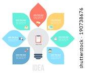 bulb left idea template with...