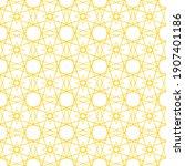 seamless pattern. geometric...   Shutterstock .eps vector #1907401186