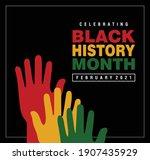 february black history month...   Shutterstock .eps vector #1907435929