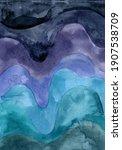 abstract ocean waves background.... | Shutterstock . vector #1907538709