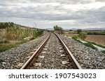 Photograph Of The Railway In...