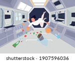 Astronauts Inside Space Station ...