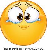 cute emotional emoji emoticon... | Shutterstock .eps vector #1907628430