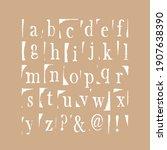 vector latin stamp font. stamp...   Shutterstock .eps vector #1907638390