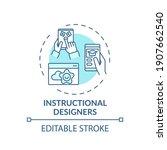instructional designers concept ... | Shutterstock .eps vector #1907662540