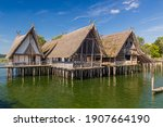 Stilt houses  pfahlbauten  ...