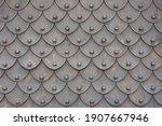 Medieval Rusty Metal Grey...