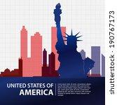 american vector | Shutterstock .eps vector #190767173