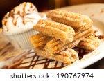 Spanish Churro Dessert Plate