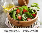 Light Salad With Spinach And...