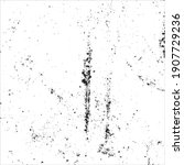grunge black and white ink... | Shutterstock .eps vector #1907729236